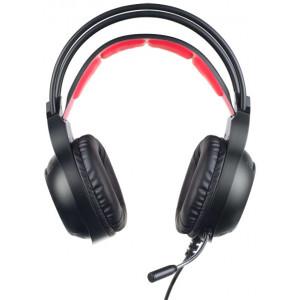 Наушники Perfeo Fuse PF-A4422 с микрофоном LED-подсветка