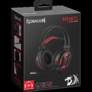 Наушники Redragon Minos с микрофоном