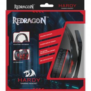 Наушники Redragon Hardy с микрофоном