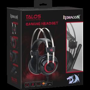 Наушники Redragon Talos с микрофоном