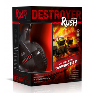 Наушники Smartbuy Rush Destroyer SBHG-8800 с микрофоном
