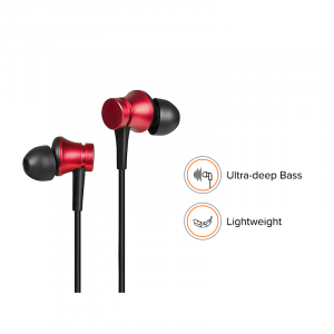 Наушники Xiaomi Mi Earphones Basic Red