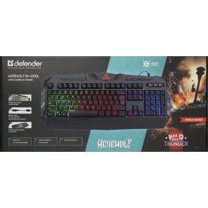 Игровая клавиатура Defender Werewolf GK-120DL с подсветкой