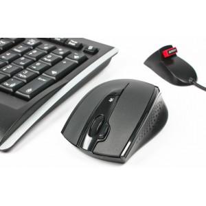 Беспроводной набор A4Tech 9300F Black (Клавиатура + Мышь)