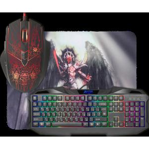 Игровой набор Defender Anger MKP-019 (Клавиатура + Мышь + Коврик)