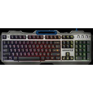 Игровая клавиатура Defender Assault GK-350L подсветка, металл