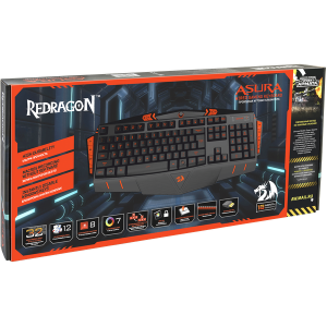 Игровая клавиатура Redragon Asura