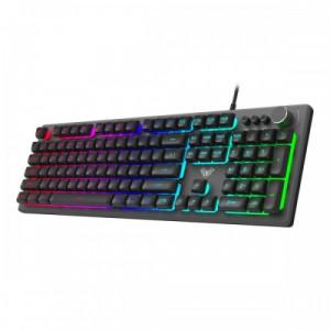Клавиатура AULA F2028 мультимедийная, с RGB подсветкой