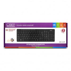 Клавиатура CBR KB 111M black