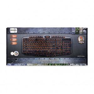Игровая клавиатура CBR KB 870 Armor с подсветкой