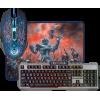 Игровой набор Defender Killing Storm MKP-013L (клавиатура + мышь + ковер)