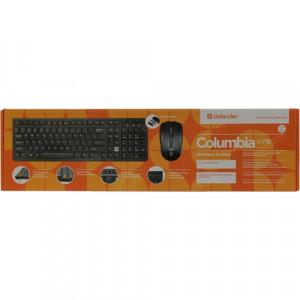 Беспроводной набор Defender Columbia C-775 (клавиатура + мышь)