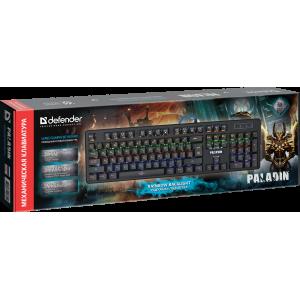 Механическая клавиатура Defender Paladin GK-370L