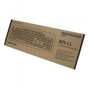 Клавиатура Nakatomi KN-11U Black