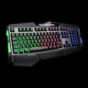 Игровая клавиатура Jet.A Panteon M300 мультимедийная, LED подсветка