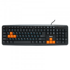 Клавиатура Dialog KS-020U Black-Orange