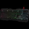 Игровая клавиатура Redragon Centaur 2, мульмедиа, 7цв. подсветки, USB, чёрная