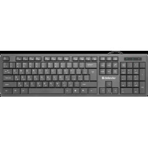 Клавиатура Defender OfficeMate MM-820 RU Black