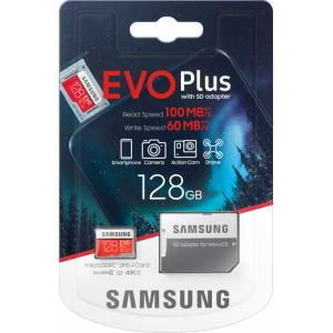 MicroSDXC 128Gb Samsung EVO Plus