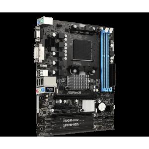 Материнская плата ASROCK 760GM-HDV, AMD 760G, SocketAM3+