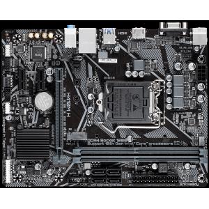 Материнская плата GIGABYTE H410M H, Intel H410, LGA 1200