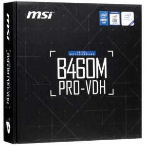 Материнская плата MSI B460M PRO-VDH, LGA 1200