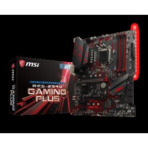 Материнская плата MSI MPG Z390 GAMING PLUS, LGA 1151v2, Intel Z390, ATX