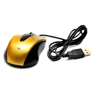 Мышь DeTech DE-3052 Shiny Gold