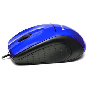 Мышь DeTech DE-3056 Shiny Blue