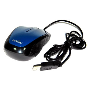 Мышь DeTech DE-3062 Shiny Blue