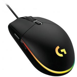 Игровая мышь Logitech G102 LIGHTSYNC, проводная, USB, черный