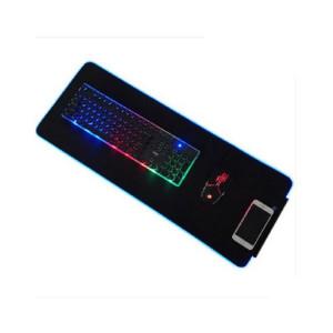 Коврик для мыши с RGB подсветкой 800x300x4 mm черный