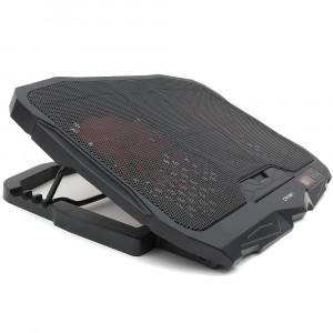 Подставка охлаждающая для ноутбука Crown CMLS-01, LCD display