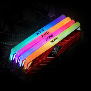 Оперативная память 16Gb 2x8GB/3200 A-Data XPG SPECTRIX D41 RGB (AX4U320038G16A-DT41) DDR4 (Kit of 2)