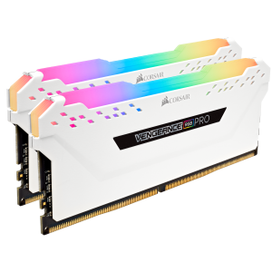 Оперативная память 16Gb 2x8GB/3000 Corsair Vengeance RGB PRO (CMW16GX4M2C3000C15W) DDR4 (Kit of 2)