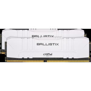 Оперативная память 16Gb 2x8GB/3600 Crucial Ballistix White DDR4