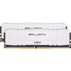 Оперативная память 16Gb DDR4 2666 CRUCIAL Ballistix White
