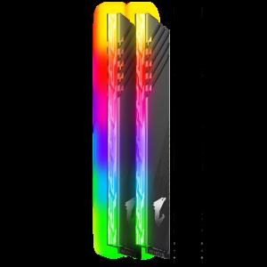 Оперативная память 16Gb 2x8GB/3600 GIGABYTE Aorus RGB (GP-AR36C18S8K2HU416R) DDR4 (Kit of 2)
