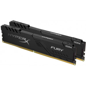 Оперативная память 16Gb 2x8GB/3200 Kingston HyperX Fury Black (HX432C16FB3K2/16) DDR4 (Kit of 2)