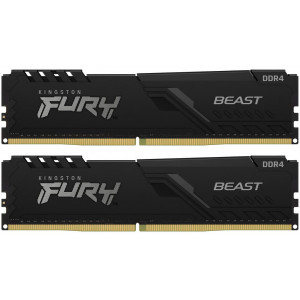 Оперативная память 16Gb 2x8GB/3200 Kingston Fury BEAST Black DDR4