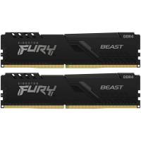 Оперативная память 64Gb 2x32GB/3600 Kingston Fury BEAST Black (KF436C18BBK2/64) DDR4