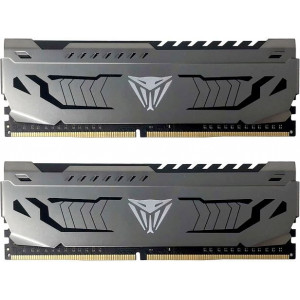 Оперативная память 16Gb 2x8GB/3200 Patriot Memory Viper Steel (PVS416G320C6K) DDR4