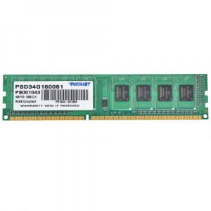 Оперативная память Patriot 4GB DDR3 1600MHz