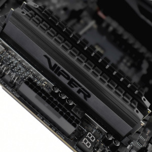 Оперативная память 16Gb 2x8GB/3200 Patriot Viper Blackout (PVB432G320C6K) DDR4 (Kit of 2)