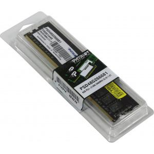 Оперативная память Patriot Signature 8GB DDR4 2666MHz (PSD48G266681)
