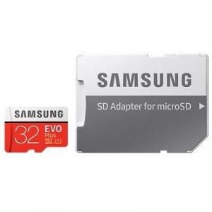 MicroSDHC 32Gb Samsung EVO Plus +adapter Class 10/UHS-I