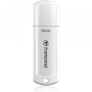 USB накопитель 64Gb Transcend 730 USB 3.1 white