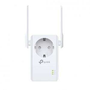 Усилитель беспроводного сигнала TP-LINK TL-WA860RE 2 антены, сквозная розетка
