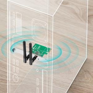 Беспроводной сетевой адаптер TP-LINK TL-WN881ND PCI Express