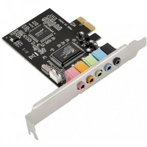 Звуковая карта C-Media CMI8738-LX 5.1 PCI-E